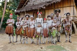 Konmei village - Yokoin tribe