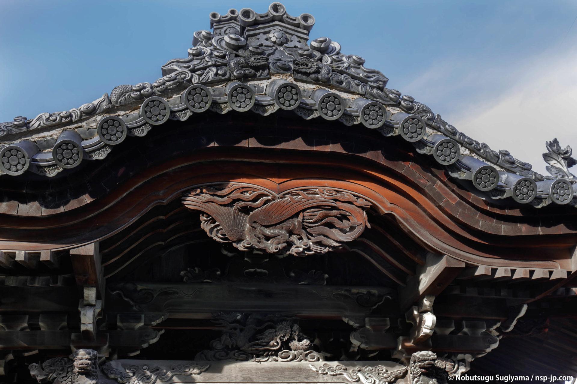 常在寺 - 妙見堂ごはいの鳳凰彫刻 | 岐阜 故郷巡礼 by 杉山宣嗣