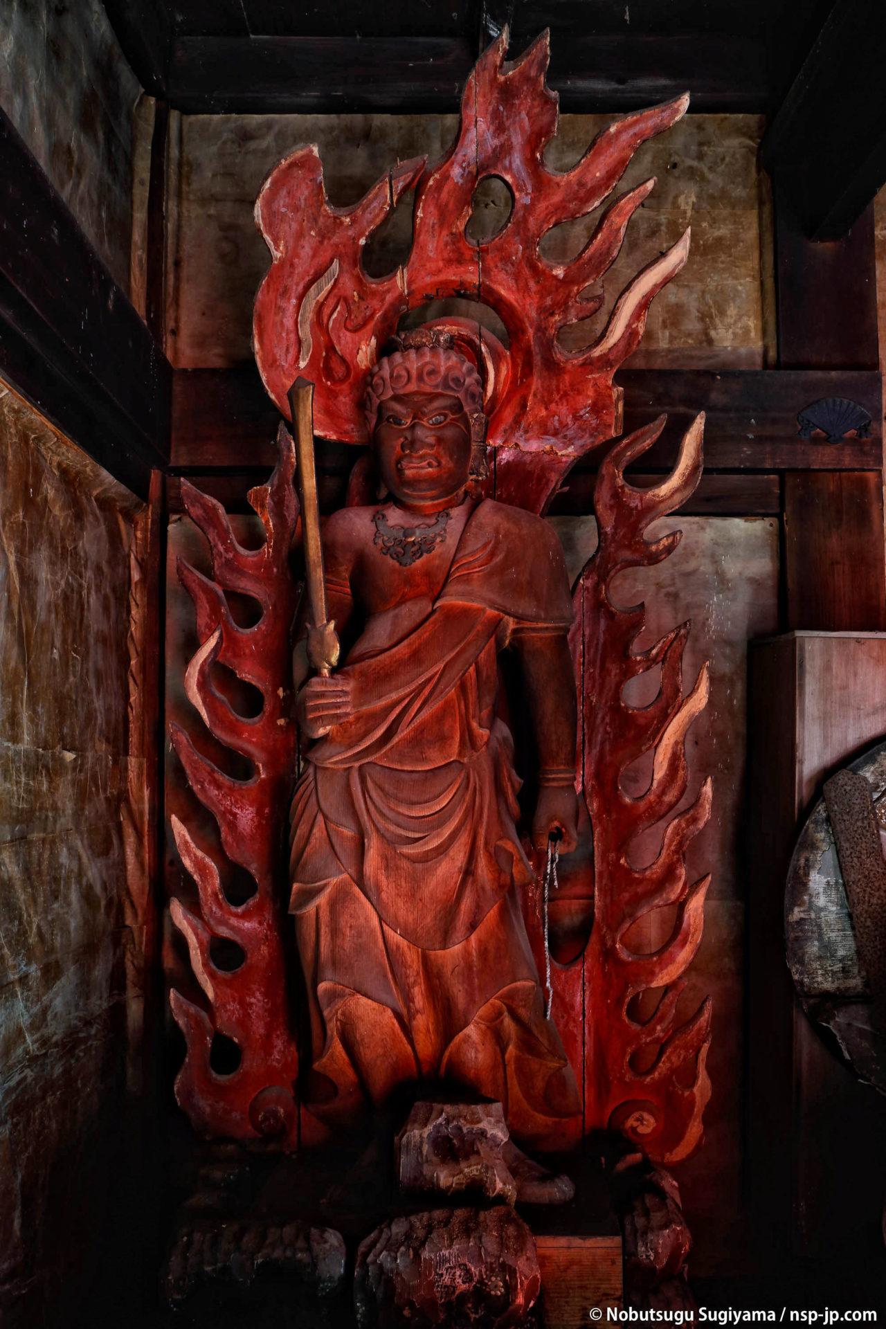 三田洞弘法(法華寺)-不動堂 | 岐阜 故郷巡礼 by 杉山宣嗣