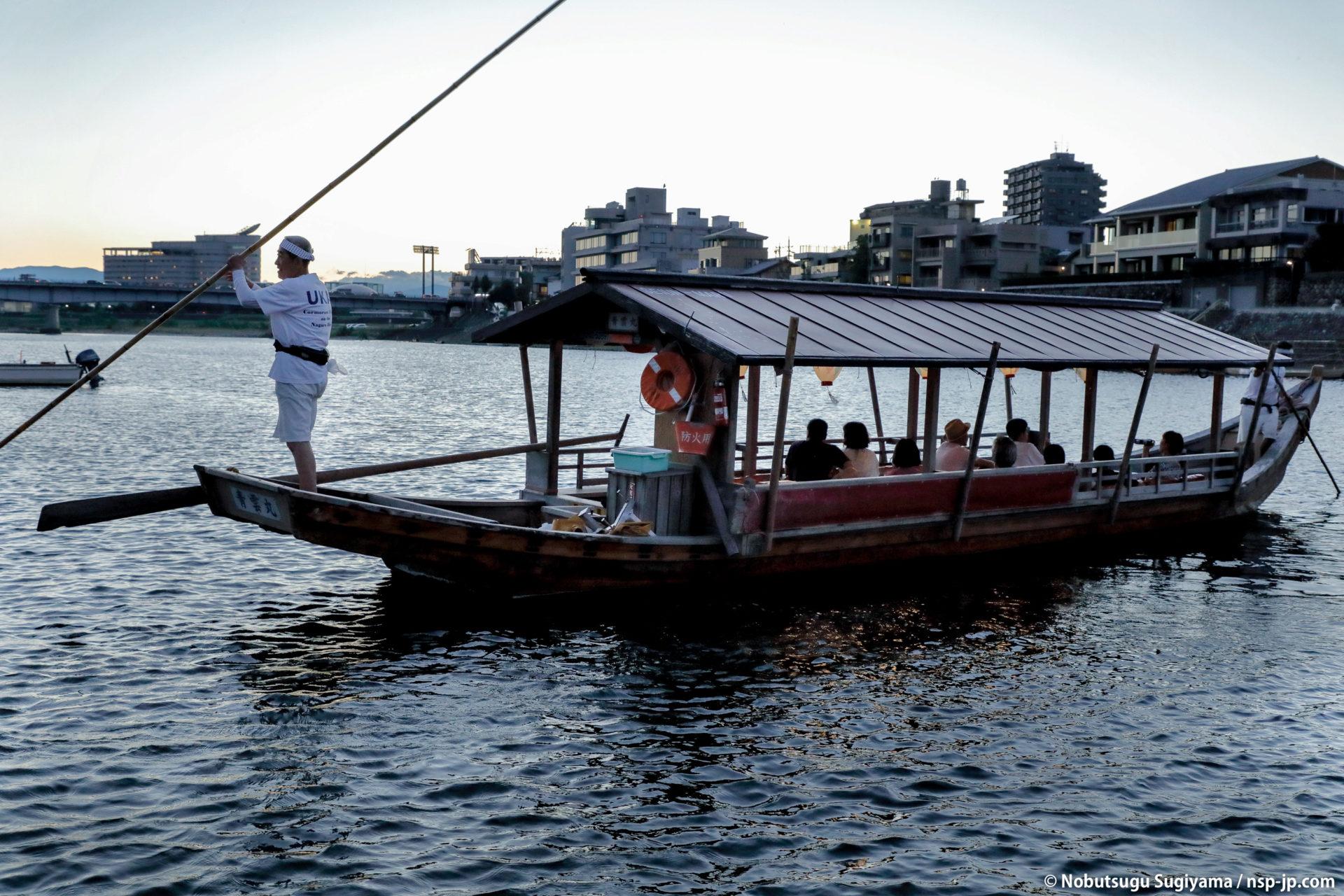 鵜飼-長良川(観覧船)| 岐阜 故郷巡礼 by 杉山宣嗣